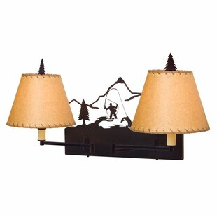Steel Partners Fly Fisherman Swing Arm Lamp