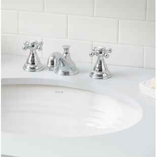 Check Prices Sienna Vitreous China Circular Undermount Bathroom Sink with Overflow ByCheviot Products