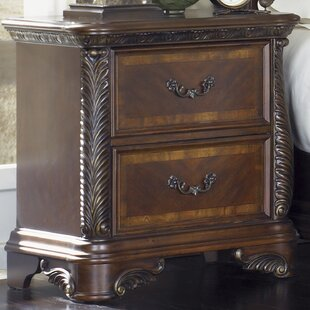 Herlinda 2 Drawer Nightstand by Astoria Grand