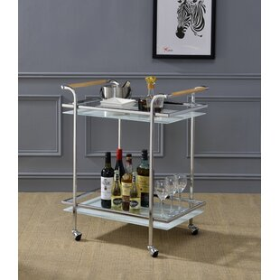 Greenberg Serving Bar Cart by Latitude Run
