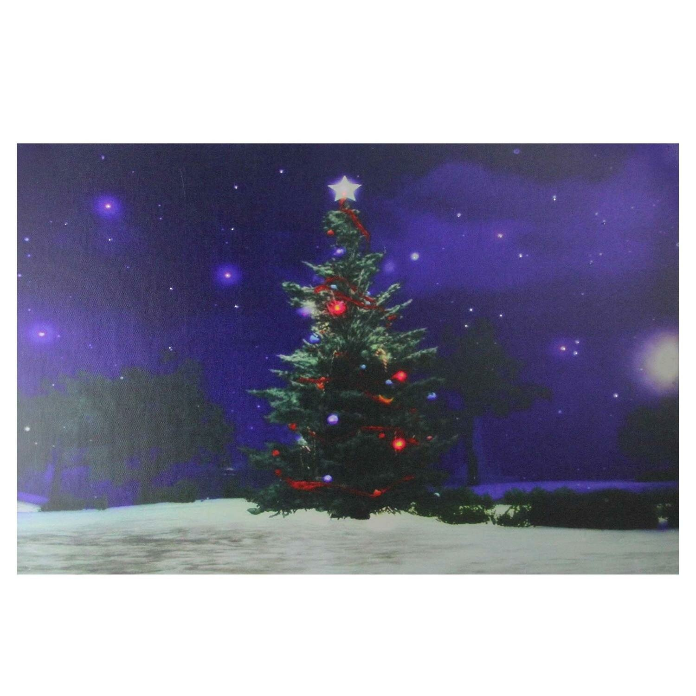 100 Violet DEL Fairy Light Up Décoration de Noël Arbre mur batterie