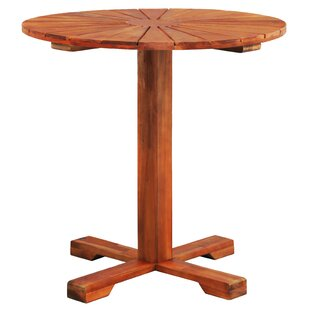 Frakes Wooden Bistro Table By Sol 72 Outdoor