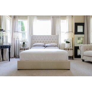 Upholstered Platform Bed by Elements Fine Home Furnishings
