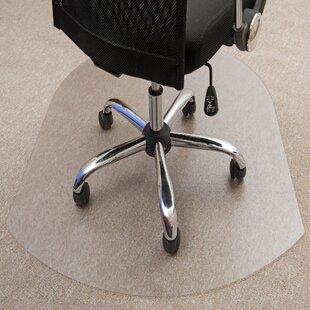 Ultimat Medium Pile Carpet Straight Chair Mat By Floortex