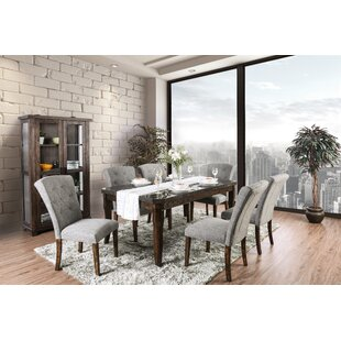 Villanueva 7 Piece Dining Set by Alcott Hill Best Choices