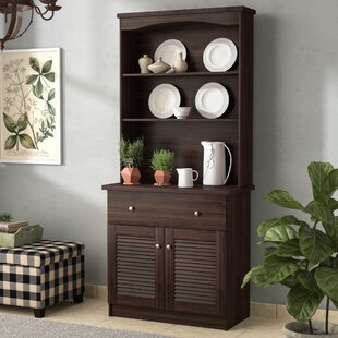 August Grove Straus China Cabinet