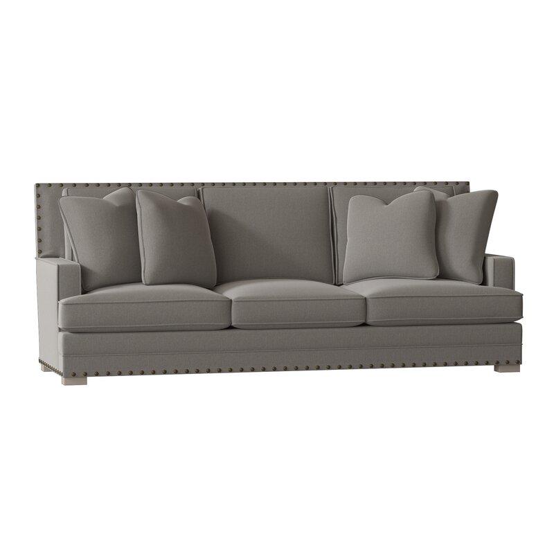 Bernhardt Cantor 94 5 Recessed Arm Sofa Wayfair