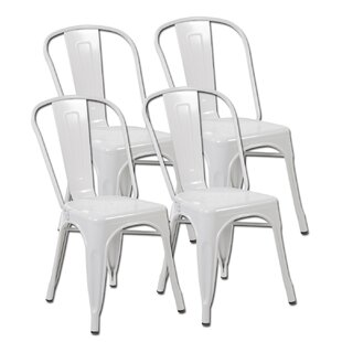 Best Price Burton Dining Chair (Set of 4) by Ebern Designs Reviews (2019) & Buyer's Guide