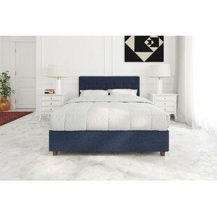 Aahil Upholstered Platform Bed by Grovelane Teen