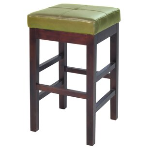 Kimberling 27 Wood Bar Stool Red Barrel Studio