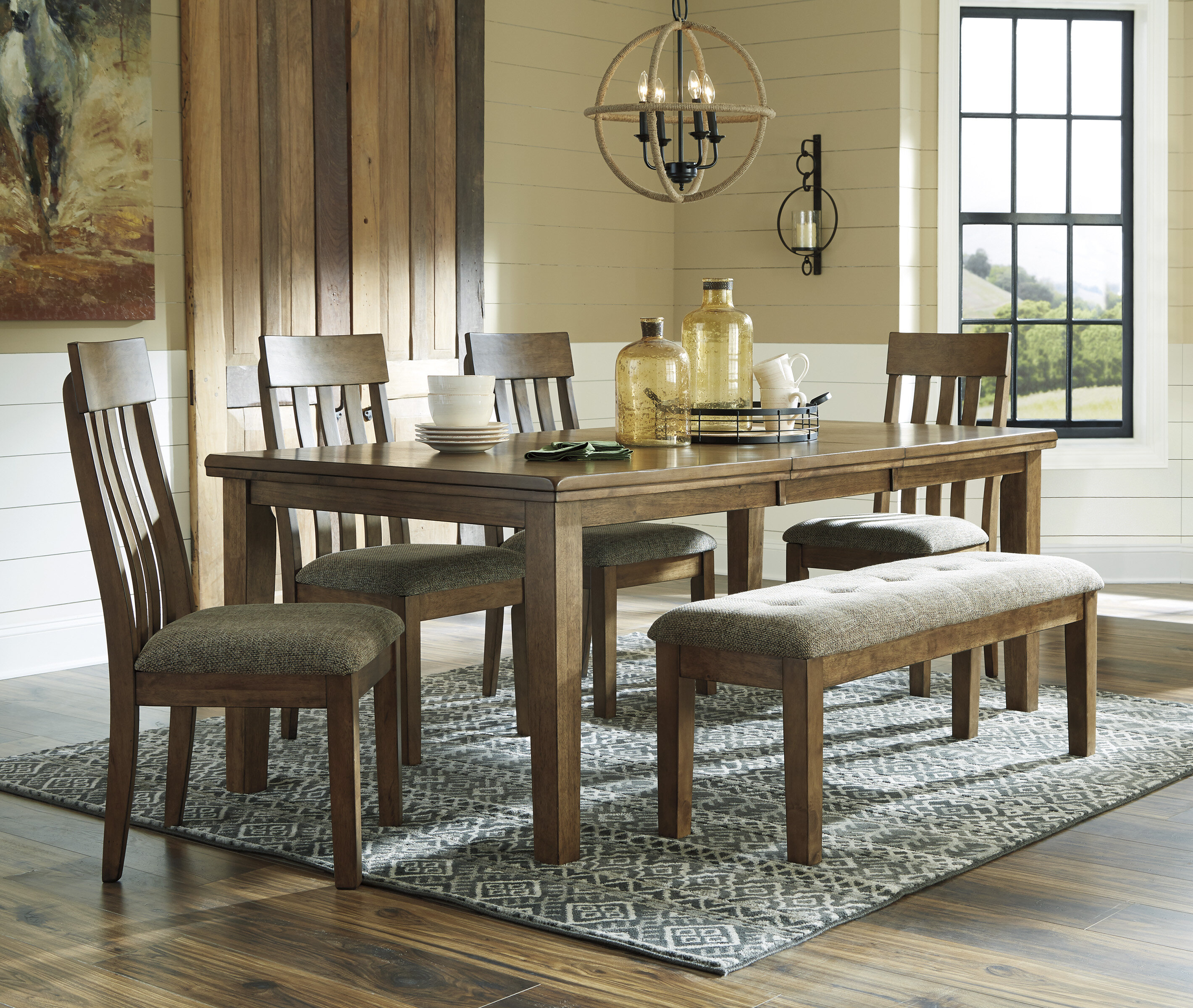 6 Piece Cabin Lodge Kitchen Dining Room Sets You Ll Love In 2021 Wayfair