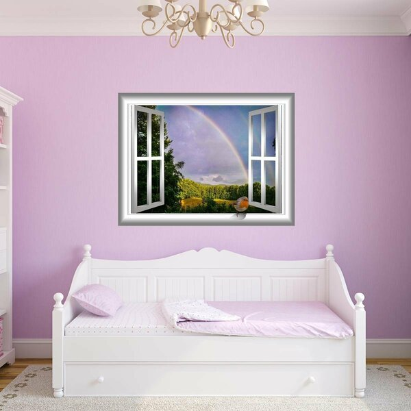bd25cbbbdec Rainbow Wall Decal