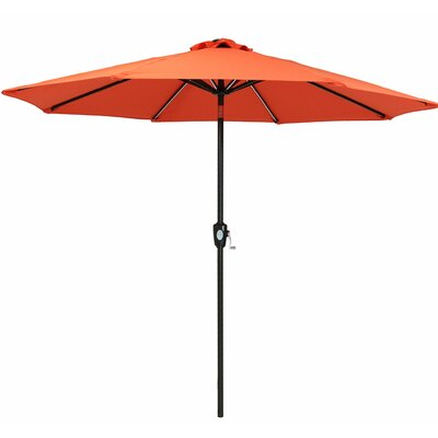 Caleb 8.5 Market Umbrella by Breakwater Bay 2020 Coupon