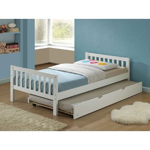 Stockholm Twin Platform Bed with Trundle
