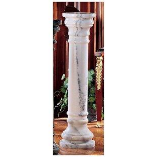 Design Toscano Pedestal Plant Stand