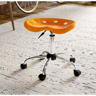 Wilkinson Height Adjustable Lab Stool by Ebern Designs Wonderful
