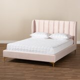 Colley Queen Upholstered Low Profile Platform Bed by George Oliver
