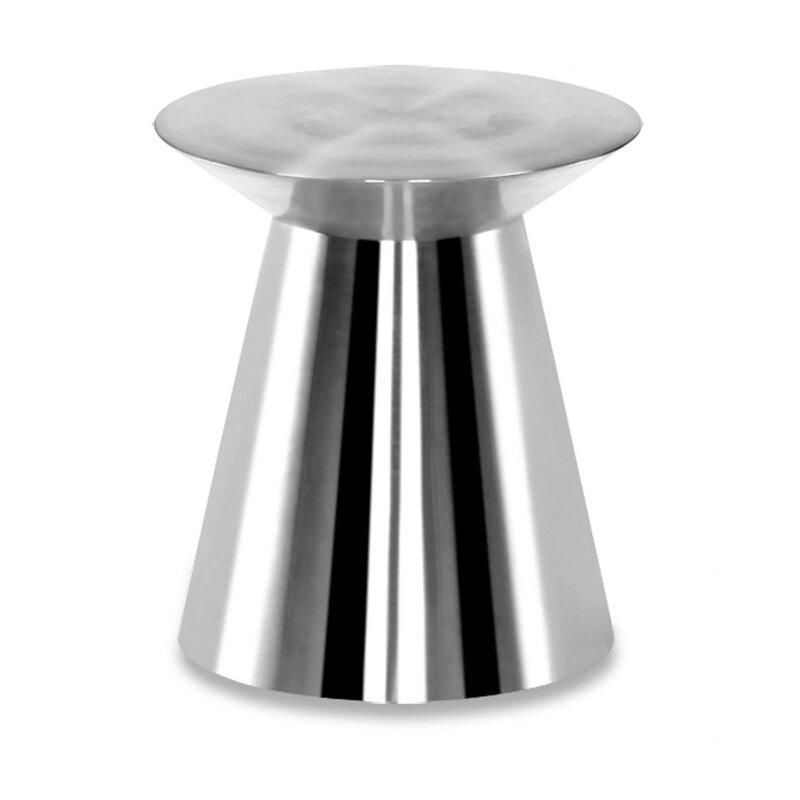 100 Essentials  Circle Metal Side Table