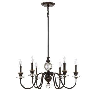 Darby Home Co Ellisurg 6-Light Chandelier