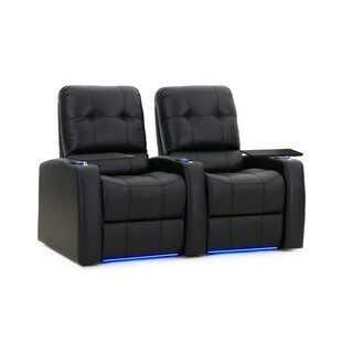 Large Blue LED Home Theater Row Seating (Row of 2)
