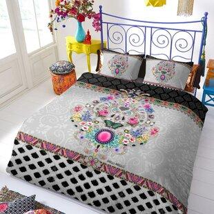 Bungalow Rose Melli Mello 100% Cotton 3 Piece Duvet Cover Set