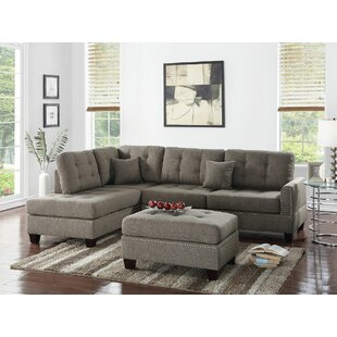 Whitner Sectional with Ottoman Latitude Run