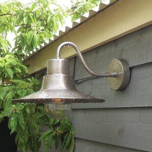 Bargain Gaspar 1-Light Barn Light By Longshore Tides