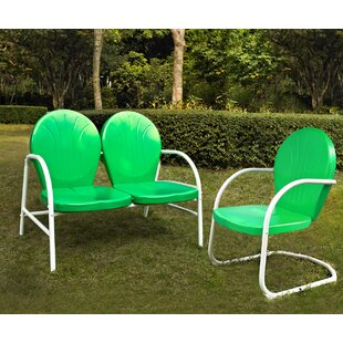 Griffith 2 Piece Sunbrella Sofa Set by Turn on the Brights