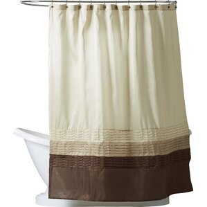brown and white shower curtain. Shelburn Shower Curtain Brown Curtains You ll Love  Wayfair