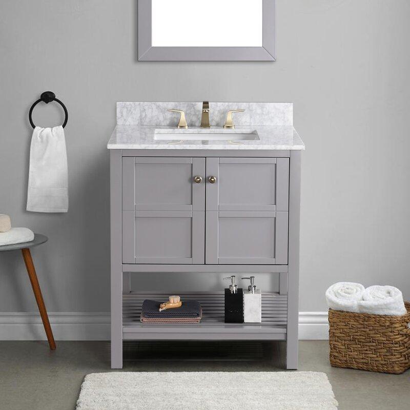 Red Barrel Studio Arthalia 30 Single Bathroom Vanity Set Wayfair