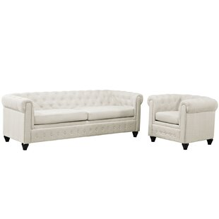 Price Check Earl 2 Piece Living Room Set by Modway Reviews (2019) & Buyer's Guide