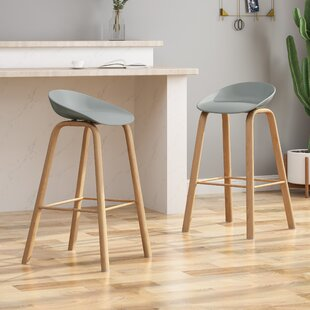 Skelmersdale Modern 30 Bar Stool (Set of 2) by Orren Ellis