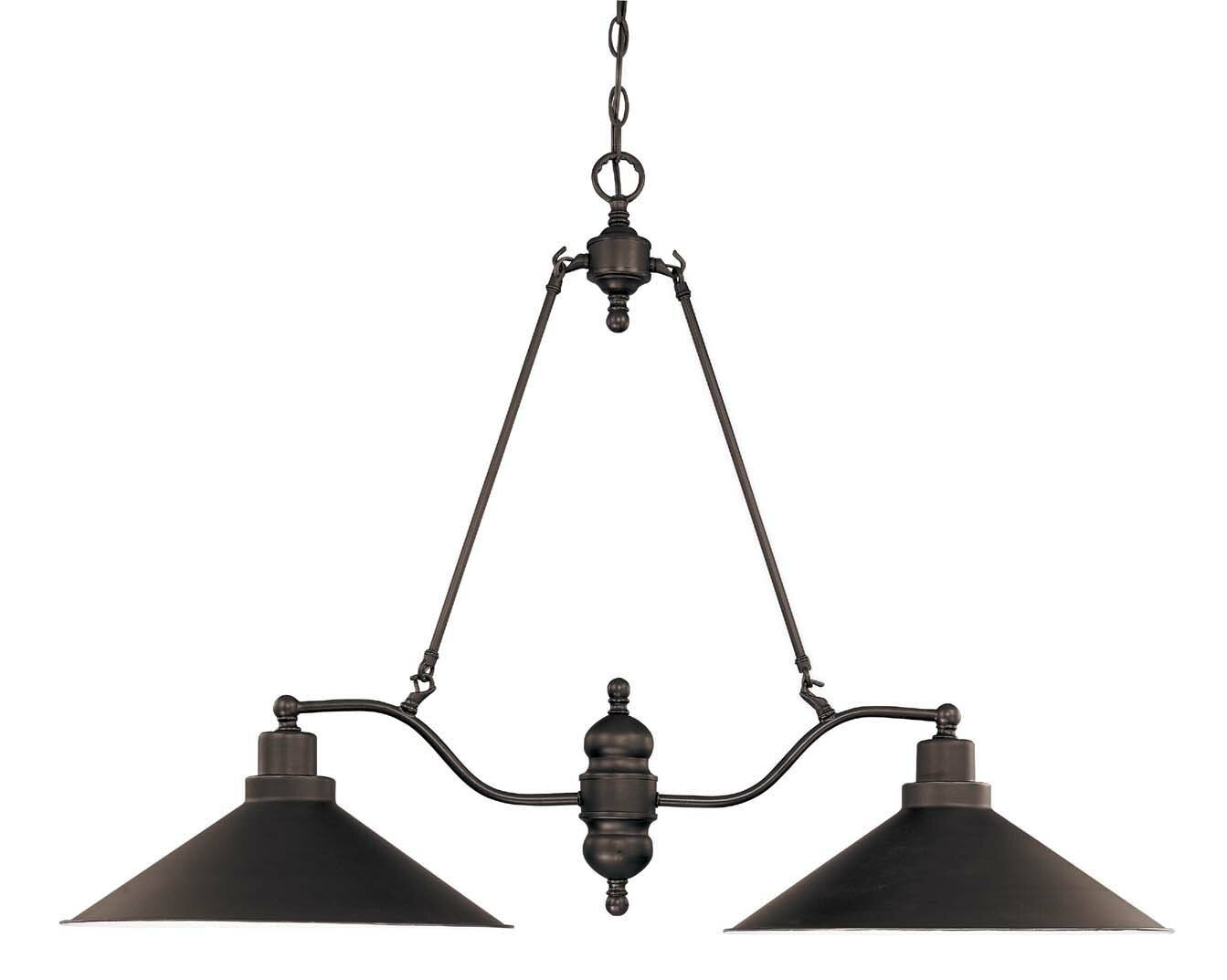Trent Austin Design Euclid 2 Light Kitchen Island Linear Pendant Reviews Wayfair