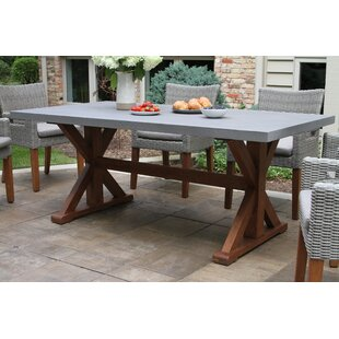 Jacques Wooden Dining Table by Alcott Hill Savings