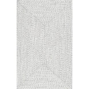 Moser Hand Braided Ivory Area Rug by Wade Logan