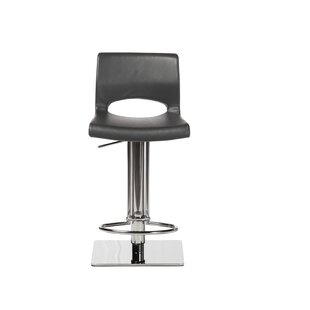 Ditmas Swivel Adjustable Height Stool by Orren Ellis