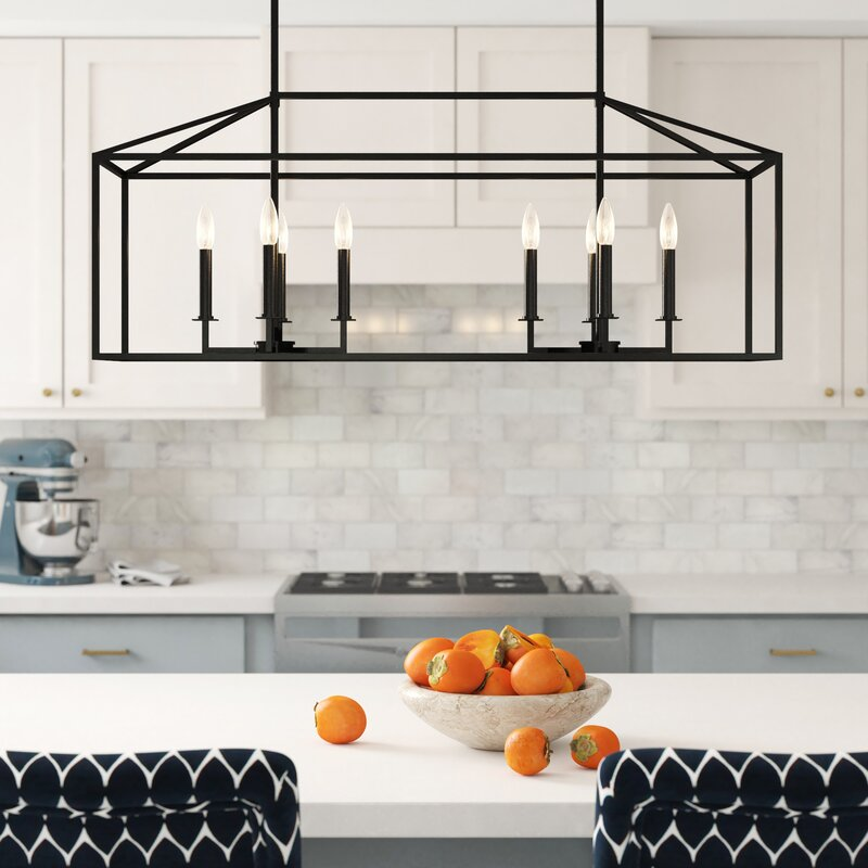 Gaynor 8 Light Kitchen Island Pendant Reviews Joss Main