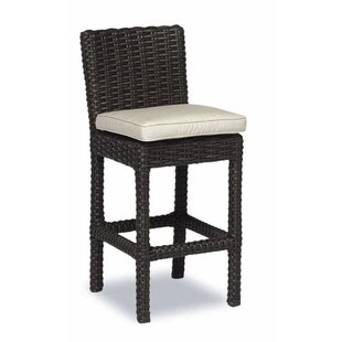 Cardiff 26 Patio Bar Stool with Cushion Sunset West