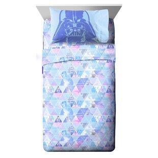 Star Wars Celestial Logo Twin Polyester 3 Piece Sheet Set
