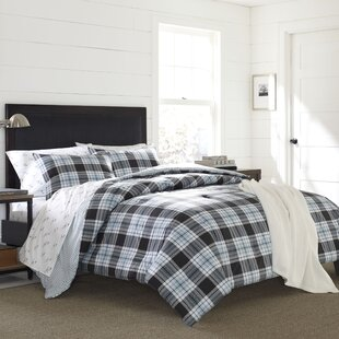 Lewis Plaid 2 Piece Comforter Set by Eddie Bauer