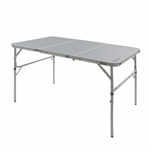 Amabelle Aluminum Alloy Frame Adjustable Lightweight Portable Strong Stable Camping Table