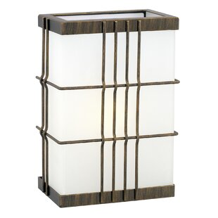 Arnwine 1-Light Outdoor Flush Mount by Ivy Bronx