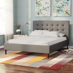 Brockway Queen Upholstered Platform Bed by Brayden Studio