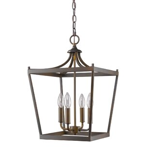 Charlton Home Hardt 4-Light Foyer Pendant