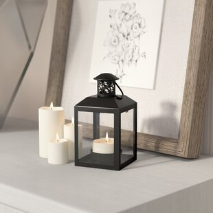 Traditional Metal Lantern by Laurel Foundry Modern Farmhouse