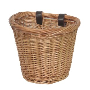 Oval Bicycle Bike Wicker Basket By House Of Hampton