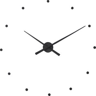 Objective Retro Mute Wall Clock Silent Movement Kit With Hook Clock Mechanism Parts Without Battery Home Decor a Clock Core And 3 Pointers