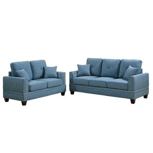 Best Choices Findlay 2 Piece Living Room Set by Charlton Home Reviews (2019) & Buyer's Guide