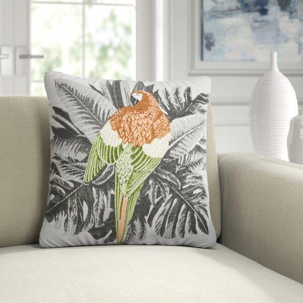 Elainesmith Macaw Sunbrella Indoor Outdoor Animal Print Throw Pillow Perigold