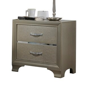 Read Reviews Ireland 2 Drawer Nightstand by House of Hampton